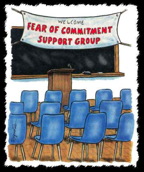 Fear of Commitment Support Group